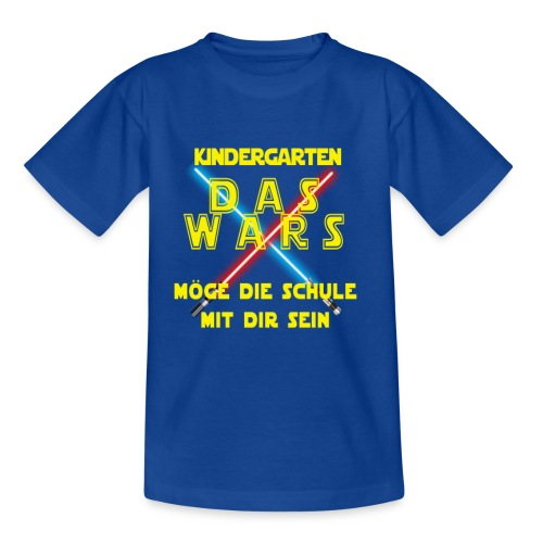 Das wars mit Kindergarten - Kinder T-Shirt