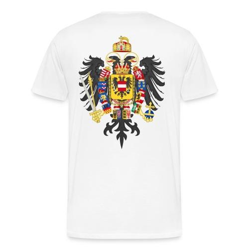 Bundesadler von Kaiser Franz II 1804 - Männer Premium T-Shirt
