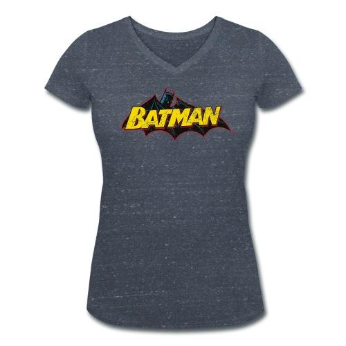Batman 'Bat' Frauen T-Shirt - Frauen Bio-T-Shirt mit V-Ausschnitt von Stanley & Stella