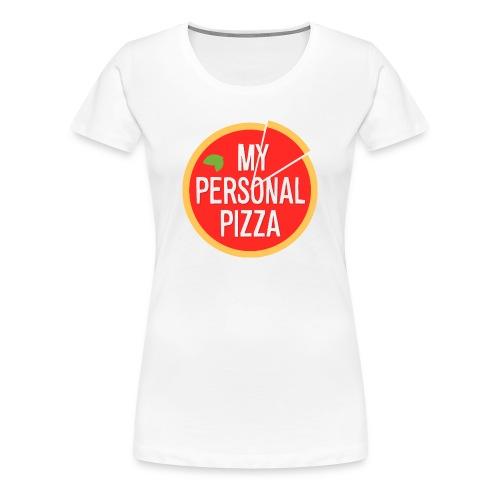 T-Shirt MyPersonalPizza (Premium) - Donna - Maglietta Premium da donna