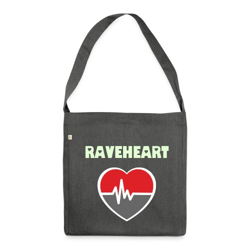 Raveheart - Eco friendly Shoulder bag - Fan-Bag - Shoulder Bag made from recycled material