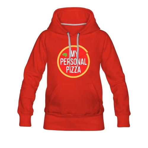 Felpa con cappuccio MyPersonalPizza - Donna - Felpa con cappuccio premium da donna