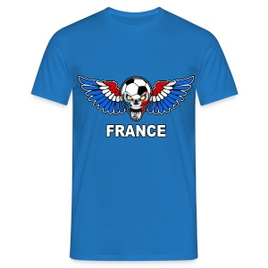 Football Skull France - Men's T-Shirt