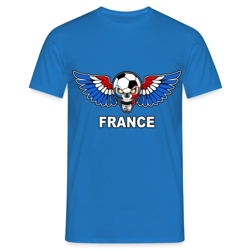 Football Skull France - Men's T-Shirt