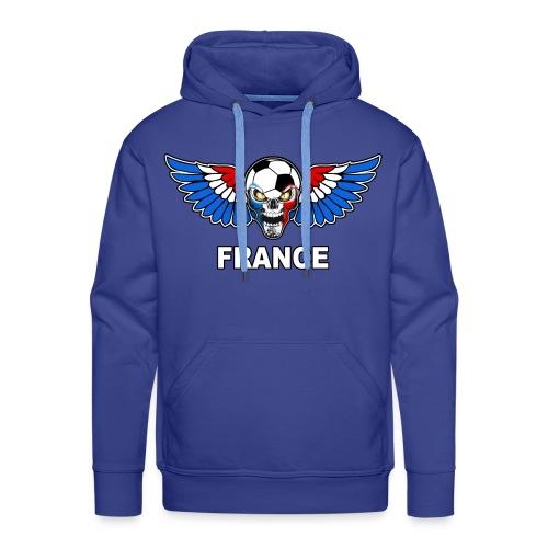 Football Skull France - Men's Premium Hoodie