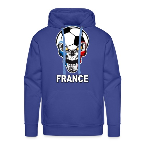 Football Skull France - Men's Premium Hoodie