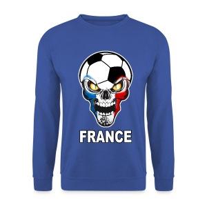 Football Skull France - Men's Sweatshirt