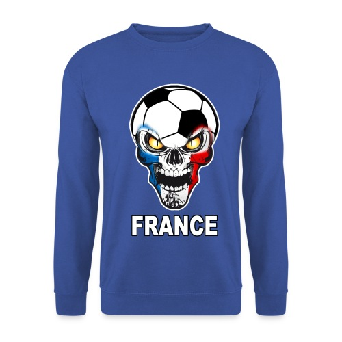Football Skull France - Men's Sweatshirt
