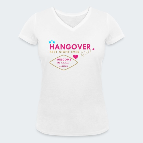 JGA Female Hangover - Frauen Bio-T-Shirt mit V-Ausschnitt von Stanley & Stella