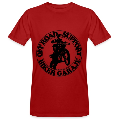 Camiseta Off Road Support - Camiseta ecológica hombre