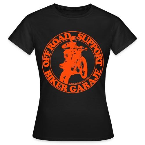Camiseta Chica Off Road Support - Camiseta mujer