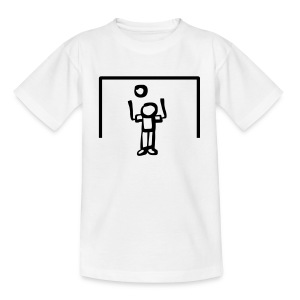 Torwart Kopfball - Kinder T-Shirt