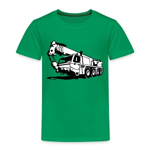Autokran, crane (2 color) T-Shirts - Kinder Premium T-Shirt