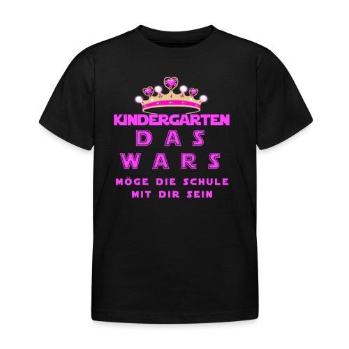 Das wars Kindergarten - Kinder T-Shirt