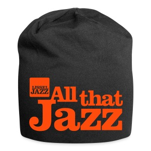 IJsseljazz Beanie Zwart All that Jazz - Jersey-Beanie