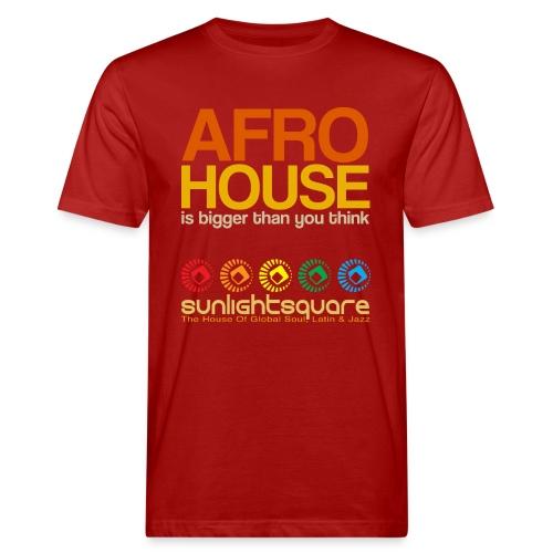 Sunlightsquare Afro House - Men's Organic T-shirt