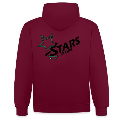 Stars Store Hoodie Boys - Kontrast-Hoodie