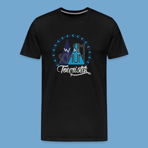 Logo Shirt grey - Männer Premium T-Shirt
