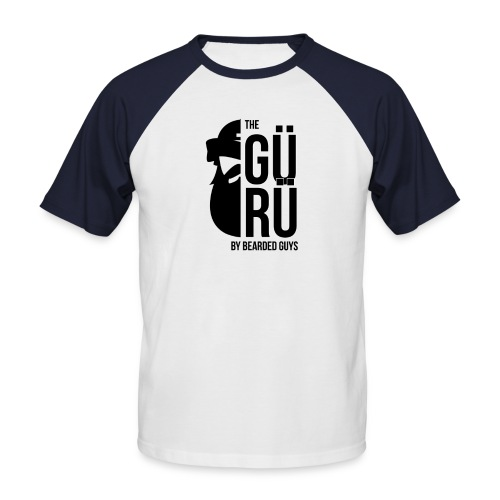 Bearded Guy Halfslegue - T-shirt baseball manches courtes Homme