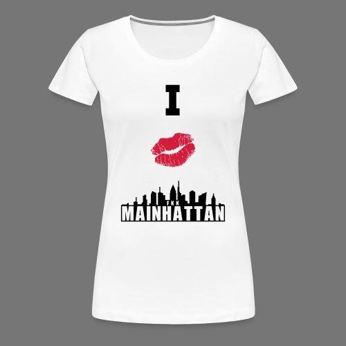 Frauen T-Shirt Rundhalsausschnitt - Frauen Premium T-Shirt