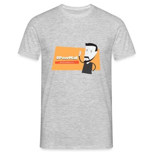 #PoorMail - Maglietta da uomo