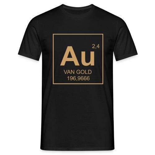 Van Gold Formel Shirt (hinten: Labeldruck) - Männer T-Shirt