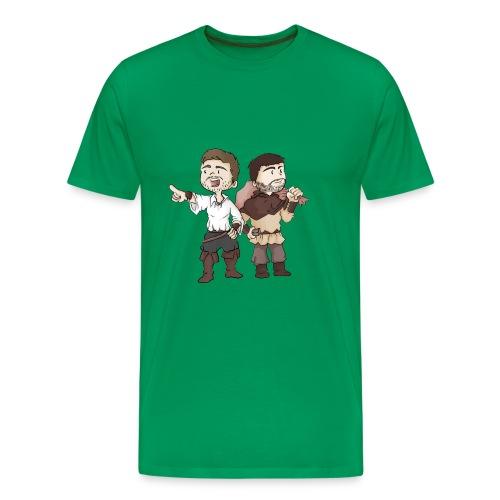 T-SHIRT PREMIUM GALEJADE & CALEMBOUR  - T-shirt Premium Homme