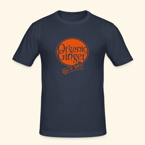 Organic Ginger1 - Slim Fit Homme - T-shirt près du corps Homme