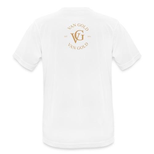Van Gold Sport Shirt (Atmungsaktiv) - Männer T-Shirt atmungsaktiv