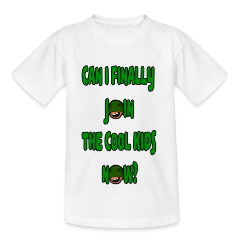 Cool Kids White T-Shirt - Teenage T-Shirt