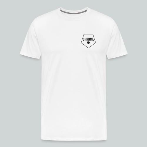 SHRDME Shirt klein mit 100 logo am Ärmel - Männer Premium T-Shirt
