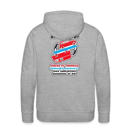 Sweat Capuche vehicules-anciens.fr - Sweat-shirt à capuche Premium pour hommes