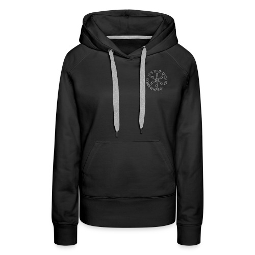 Warm up after a dive ladies! (Women) - Women's Premium Hoodie