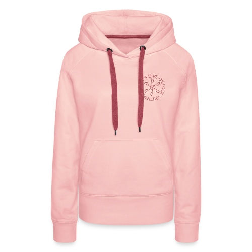 Get comfortable at home ladies! (+ back print) - Women's Premium Hoodie