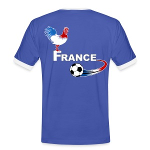 Football France 08 - Men's Ringer Shirt
