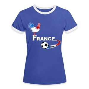 Football France 08 - Women's Ringer T-Shirt