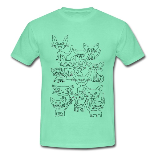 Les chats sauvages - T-shirt Homme