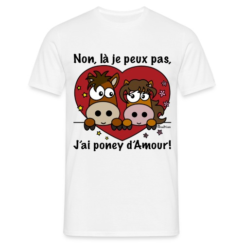 J'ai poney - T-shirt Homme