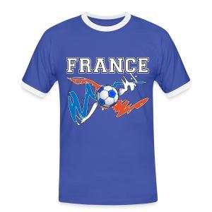 Football France 09 - Men's Ringer Shirt