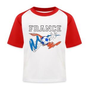 Football France 09 - Kids' Baseball T-Shirt