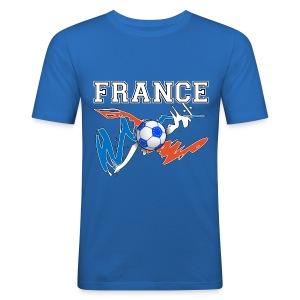 Football France 09 - Men's Slim Fit T-Shirt