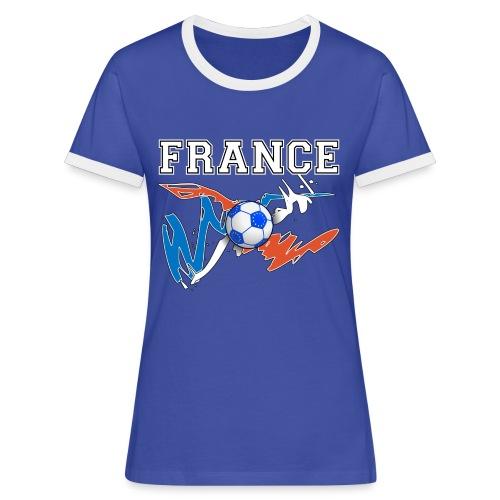 Football France 09 - Women's Ringer T-Shirt