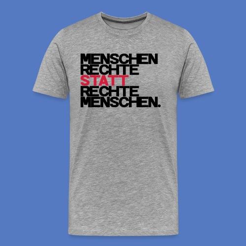 T-Shirt - Rechte statt Rechte - S/R - Männer Premium T-Shirt