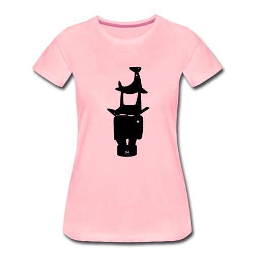 Woman T shirt. Animals (Premium) - Women's Premium T-Shirt