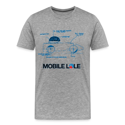 Man T shirt Mobile Lole - Men's Premium T-Shirt