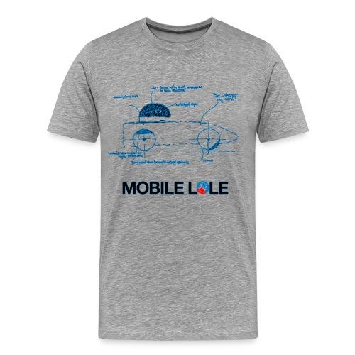 Man T shirt Mobile Lole - Men's Premium T-Shirt