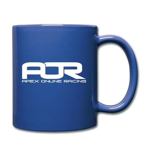 AOR Mug - Blue w/ White Logo - Full Colour Mug