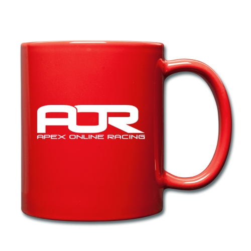 AOR Mug - Red w/ White Logo - Full Colour Mug