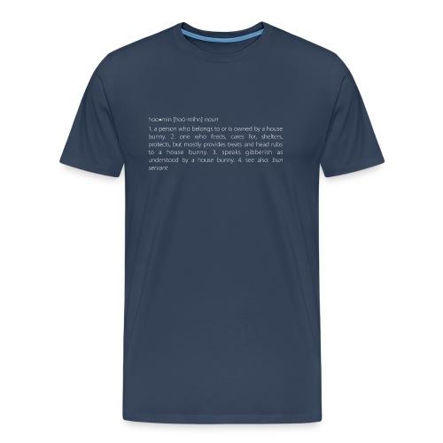 Men's t-shirt  t-shirt (round neck) - hoomin meaning - Men's Premium T-Shirt