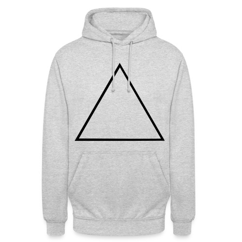 Pyramid - Sweat-shirt à capuche unisexe